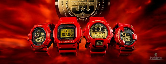 Casio G-Shock 30th Anniversary